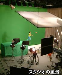 撮影スタジオの風景